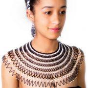 Black-white-beads