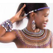 Purple-beads