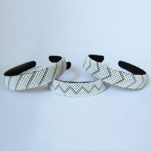 African Zulu beaded wide Alice band – Cloud Collection