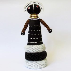 African Ndebele Doll - Medium