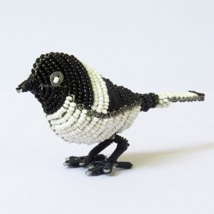 African beaded bird - Chickadee